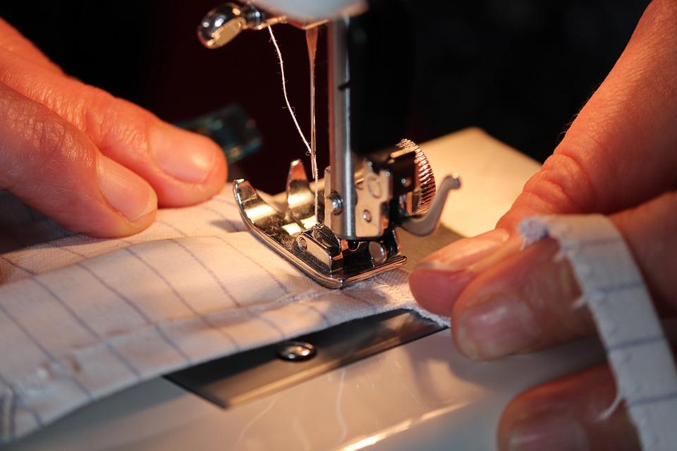 šití na stroji