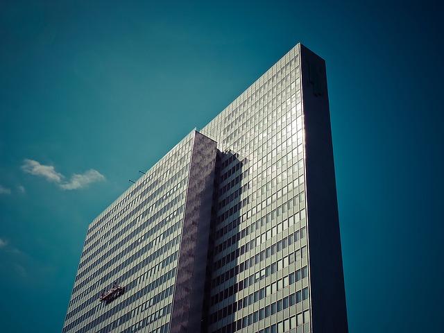 mrakodrap, mytí oken