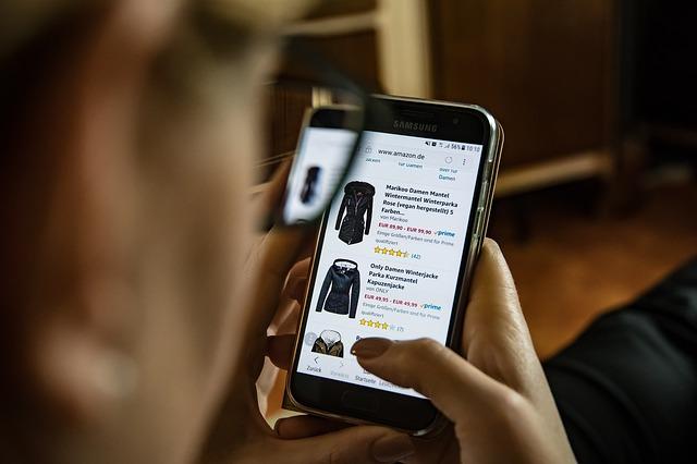 online nakupování přes mobil