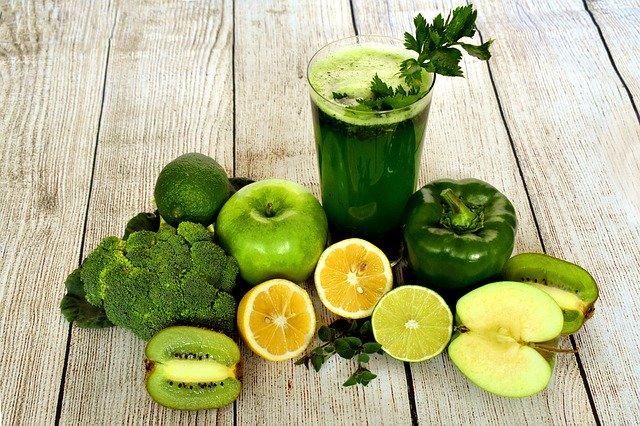 ovoce, zelenina a šťáva z nich